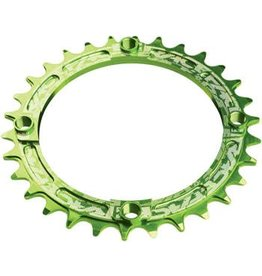 RaceFace RaceFace Narrow Wide Chainring: 104mm BCD, 32t, Green