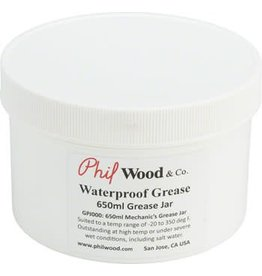 Phil Wood Phil Wood Waterproof Grease Tub: 22.5oz