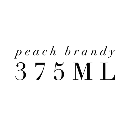 Peach Brandy 375ml