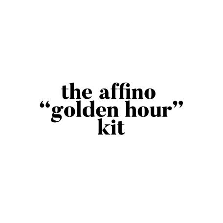 """Affino """"Golden Hour"""" Kit"""
