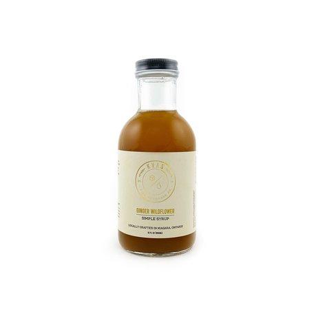 Kvas Ginger Wildflower Syrup