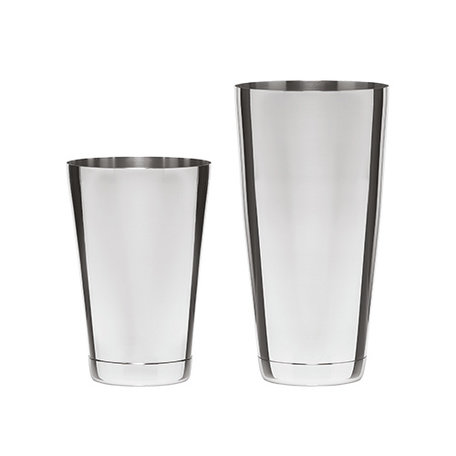 2-piece Stainless Steel Shaker Set