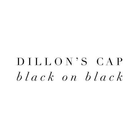 Black on Black ball caps