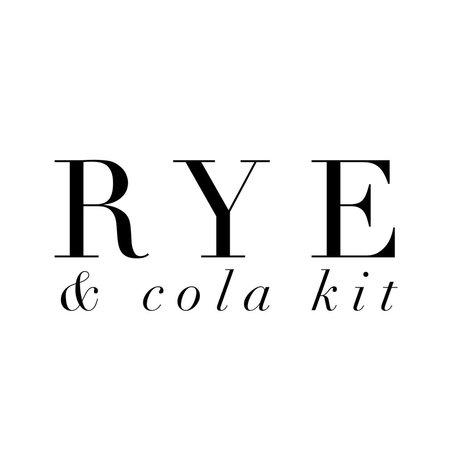 Rye & Cola Kit