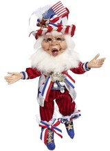 Mark Roberts Patriotic Elf