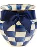Mackenzie-Childs Royal Check Large Vase
