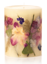 Rosy Rings Signature Collection Round Botanical Candles – Iris Moon