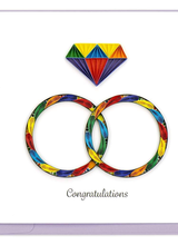 Quilling Card LV244