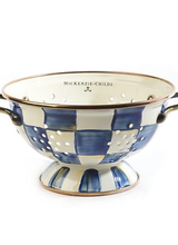Mackenzie-Childs Royal Check Colander Small