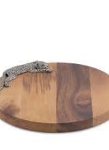 Arthur Court Designs Leopard Cheese Board