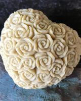 Hippy Sister Soap Co. Heart of Roses Soap Sand