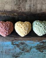 Hippy Sister Soap Co. Heart of Roses Jade Soap