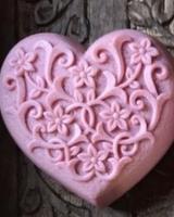 Hippy Sister Soap Co. Forever Heart Raspberry Soap