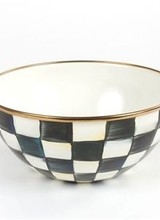 Mackenzie-Childs Courtly Check Small Everyday Bowl