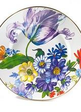 Mackenzie-Childs Flower Market White Dinner Plate