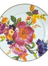 Mackenzie-Childs Flower Market White Charger Plate