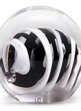 Dynasty Gallery Small Paperweight - Black & White Roll