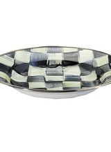 Mackenzie-Childs Courtly Check Rimmed Dish