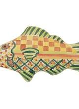 Mackenzie-Childs Fish Knob Left Green