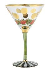 Mackenzie-Childs Speakeasy Martini Glass