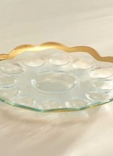 Annie Glass Deviled Egg Platter