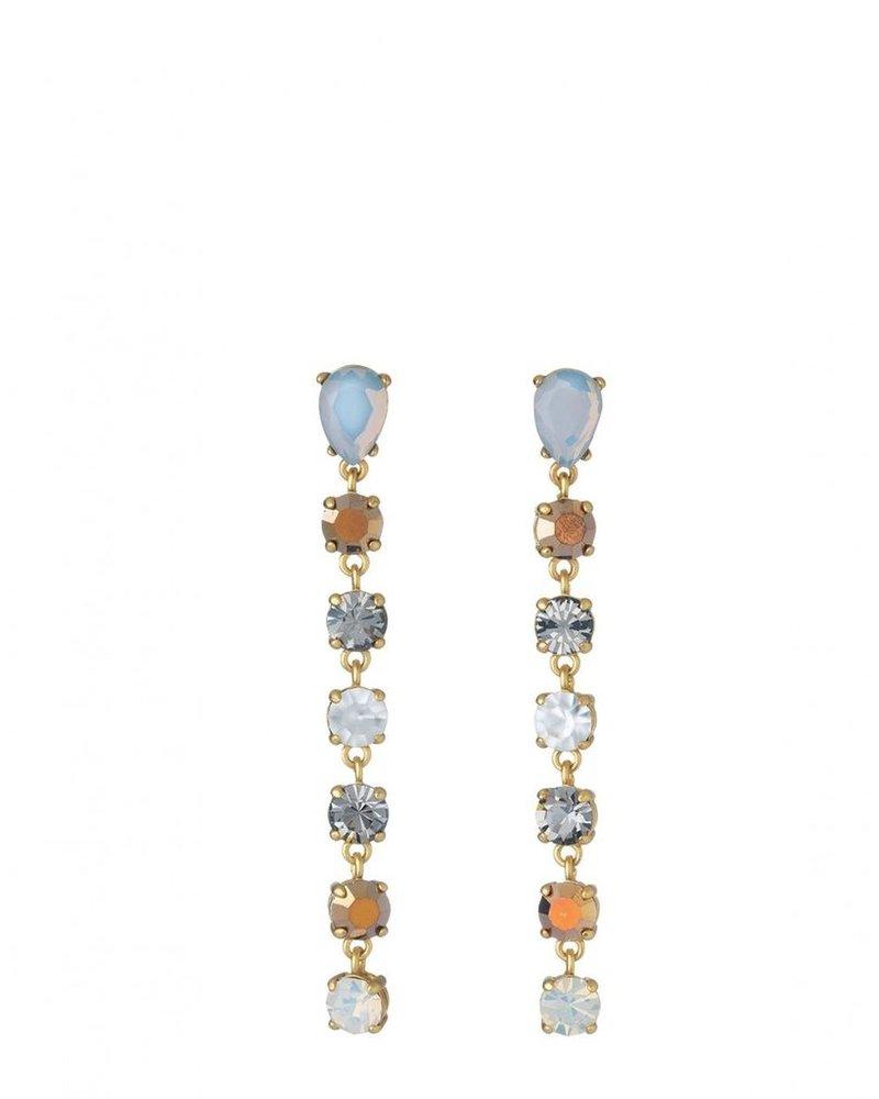 Spartina Linear Gem Earrings