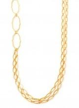 "Spartina 34"" length, 18k gold plated"