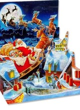Up With Paper Santa's Sleigh Ride
