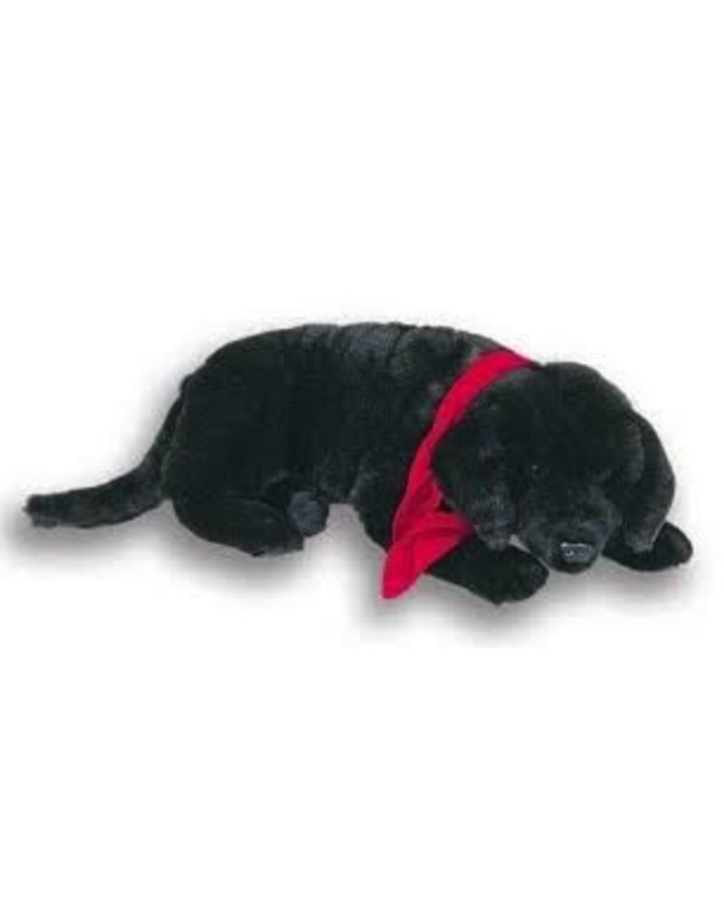 Ditz Black Lab Lap Dog