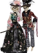 Mark Roberts Jazz Time Skeleton Mr or Mrs