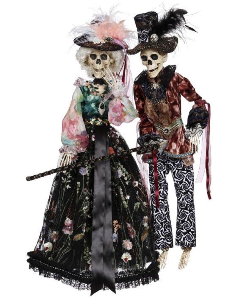 Mark Roberts Jazz Time Skeleton Mr or Mrs