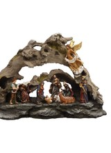 Mark Roberts Scupltures Driftwood Nativity