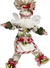 Mark Roberts Gingerbread Baker Fairy, Small - 10 Inches