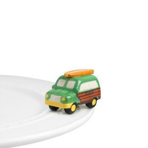 Nora Fleming Nora Fleming Mini Surf's Up (Woody Wagon)