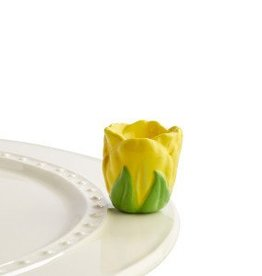 Nora Fleming Mini Tip Toe Thru 'Em (Yellow Tulip)