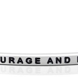 MantraBand MantraBand, Have Courage Be Kind, Silver