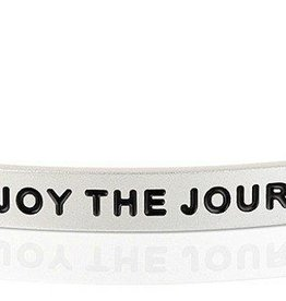 MantraBand MantraBand, Enjoy The Journey, Silver