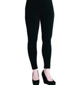 Bamboo Leggings, Full Length, Black