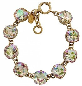 Goldtone Crystal Bracelet, Luminescent