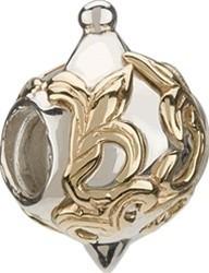Gold Fleur-de-Lis Ornament Bead 50% OFF