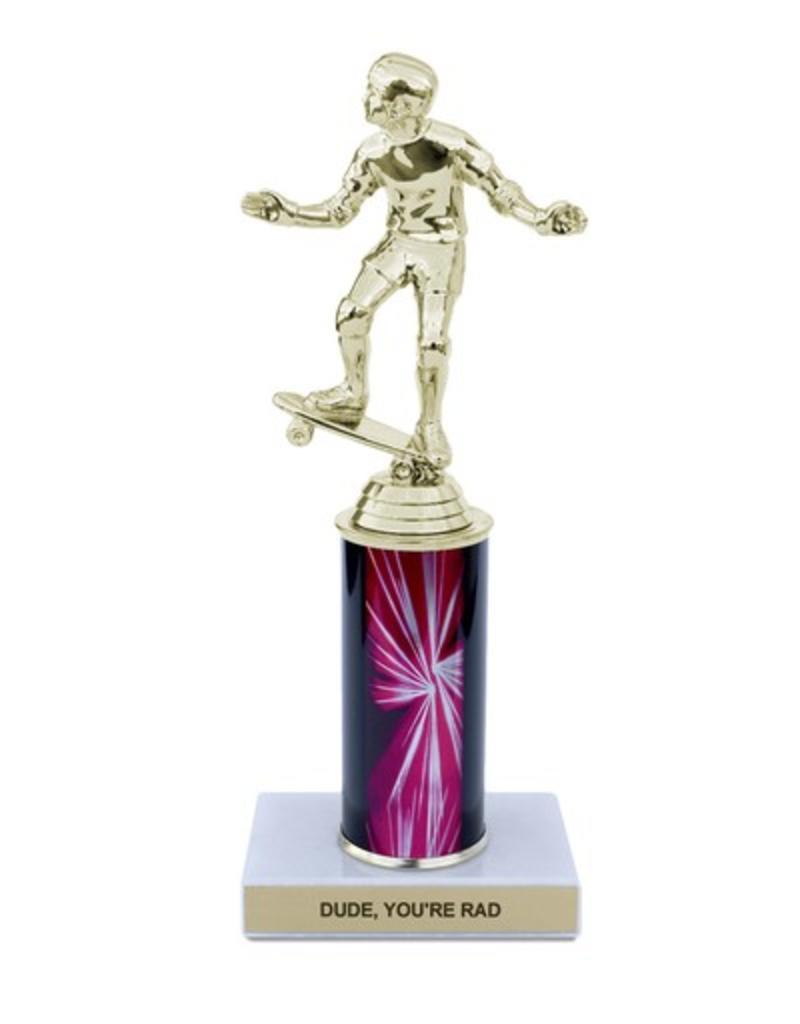 Trophy Kits Dude, You're Rad Trophy