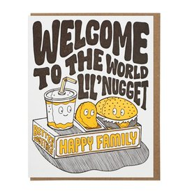 Lucky Horse Press Welcome To The World Lil' Nugget Greeting Card