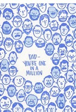 Frog & Toad Press Dad, You're One in a Million Greeting Card