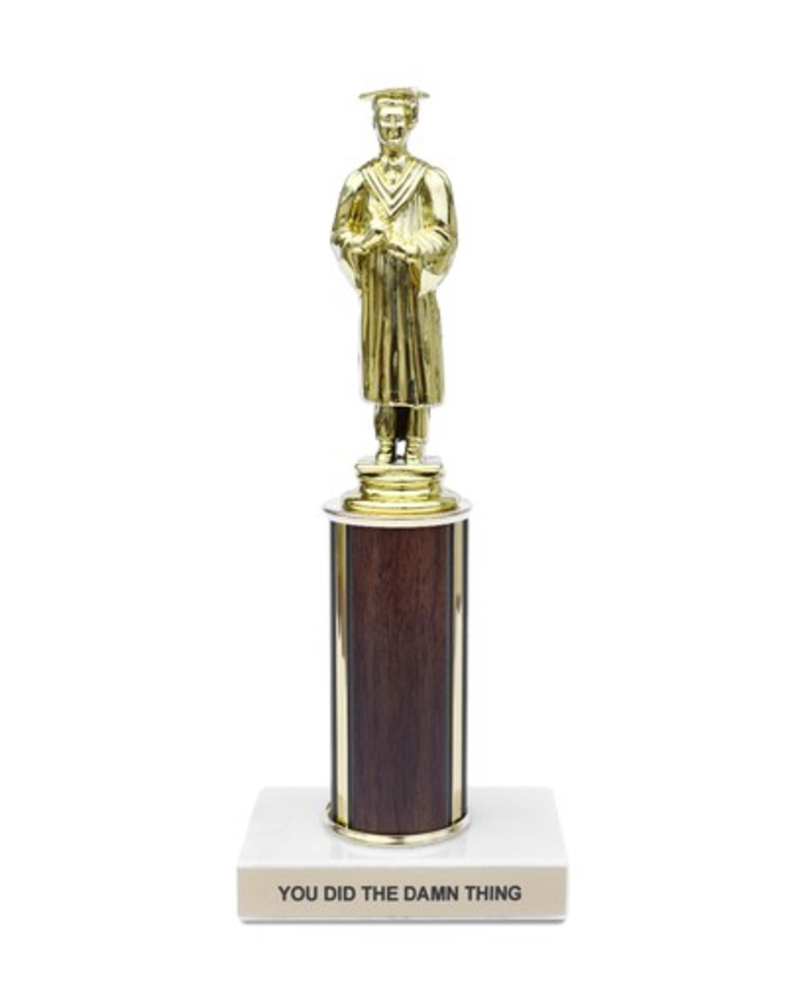 You Did the Damn Thing Trophy
