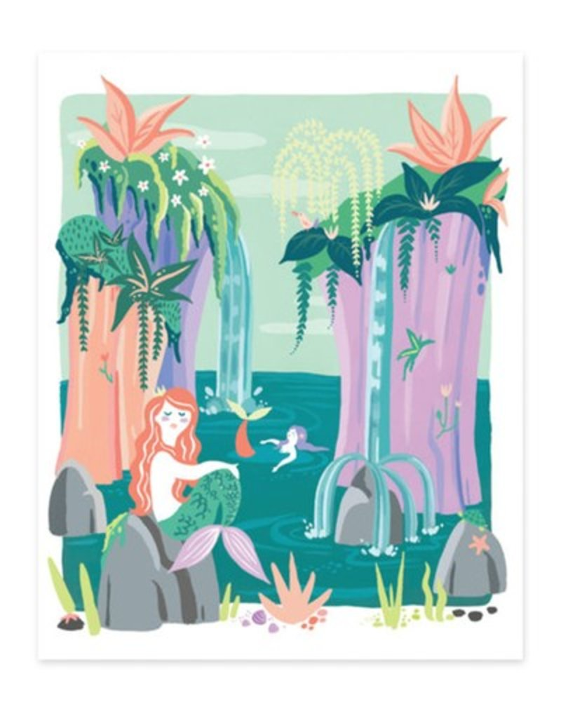 Idlewild Co Mermaid Lagoon Print