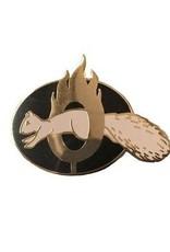 Brave Squirrel Enamel Pin