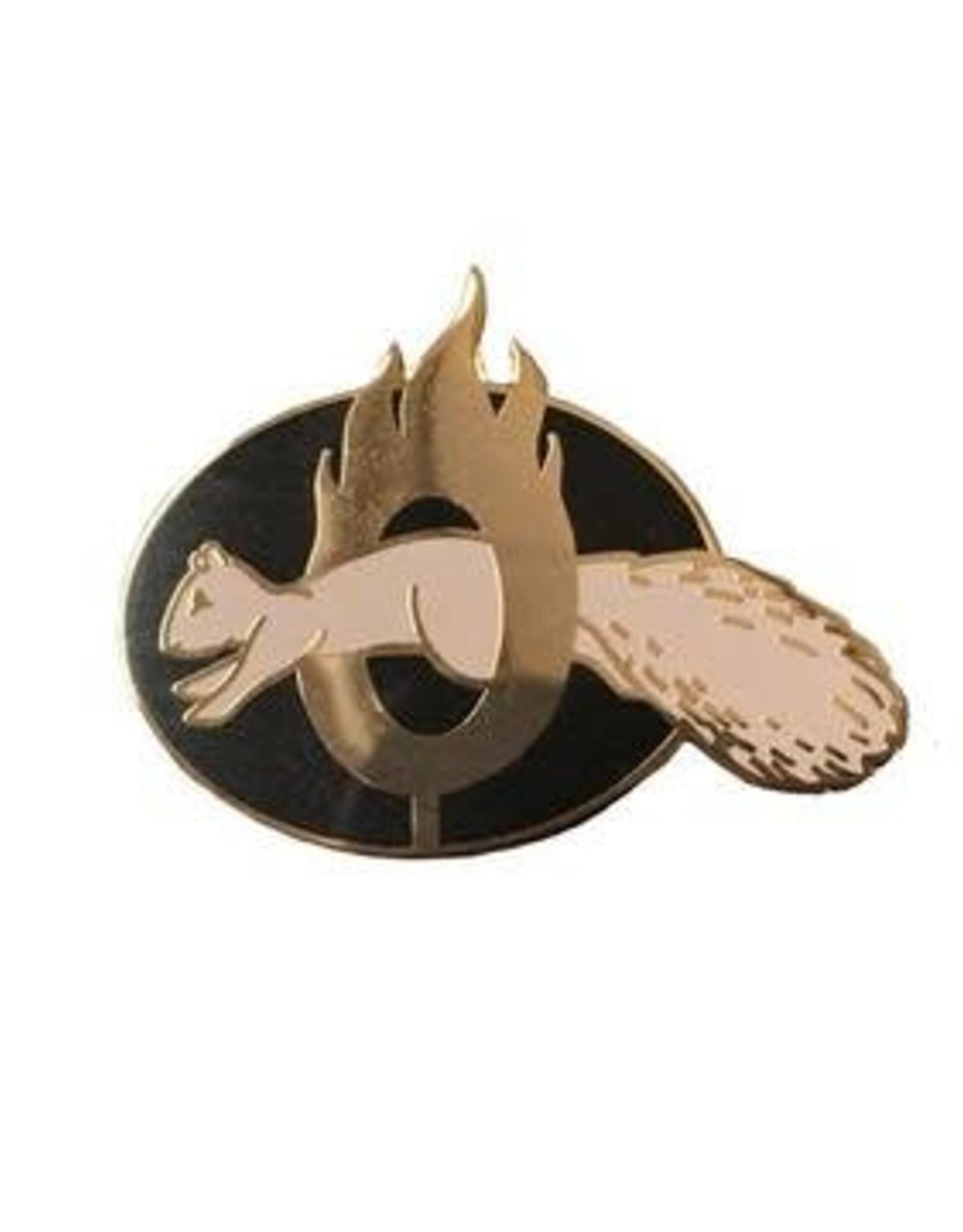 Frog & Toad Press Brave Squirrel Enamel Pin