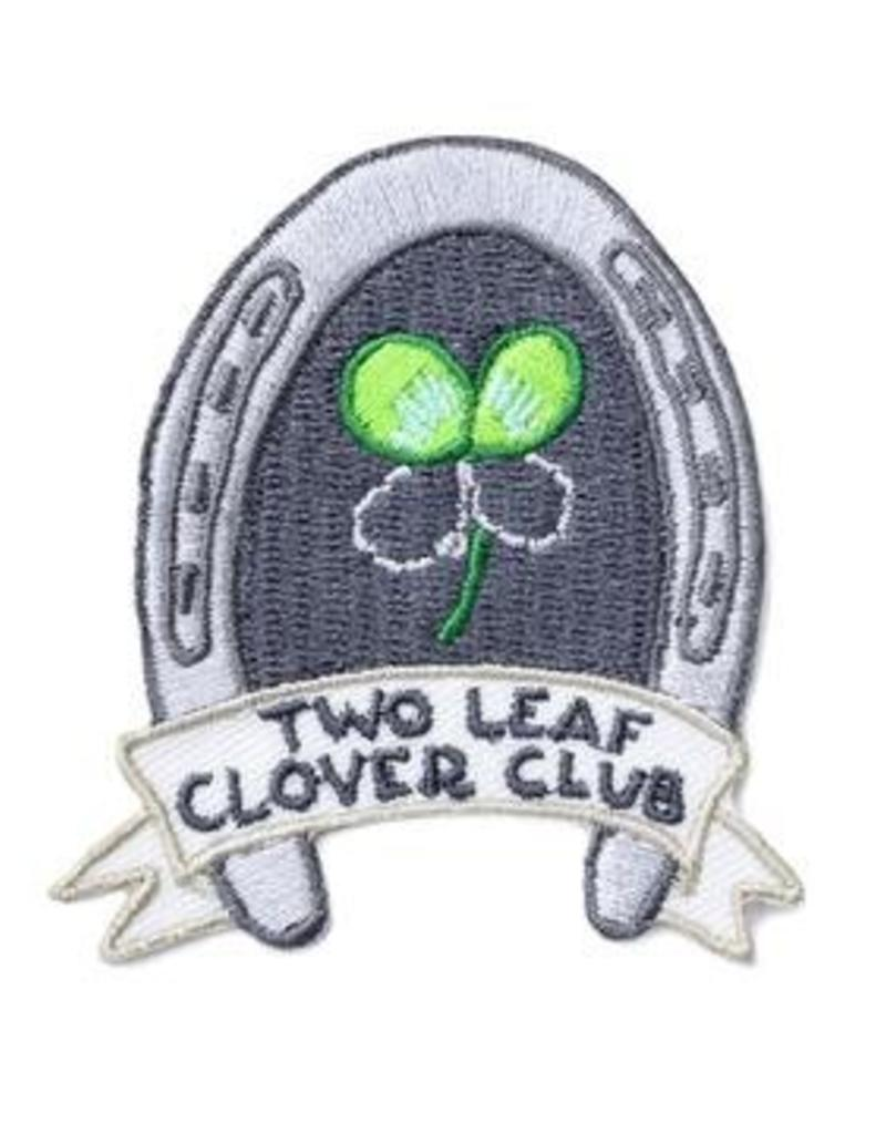Frog & Toad Press Two Leaf Clover Club Patch