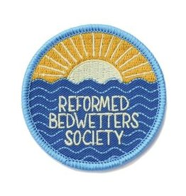 Frog & Toad Press Reformed Bedwetters Society Patch