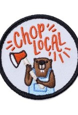 Frog & Toad Press Chop Local Beaver Patch